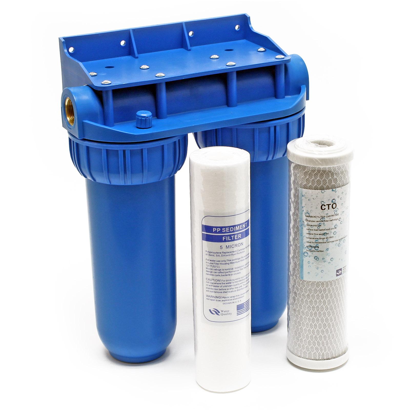 "Naturewater NW-BR10B2 Doppelfilter 26.16mm (3/4"") PP-Kartusche"